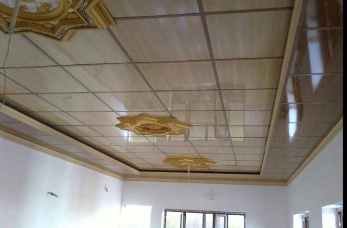 panneaux de plafond l gers de pvc pour des cuisines de soi. Black Bedroom Furniture Sets. Home Design Ideas